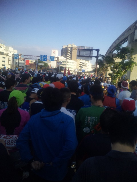 NAHAマラソン完走しました