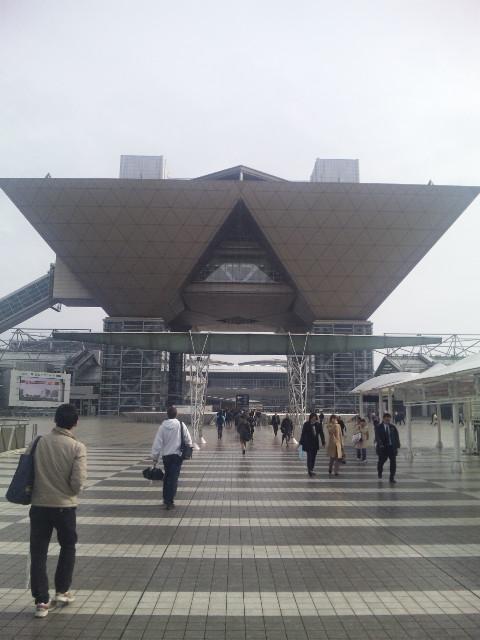東京マラソン受付会場に来ました。
