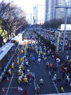 東京マラソン完走しました!